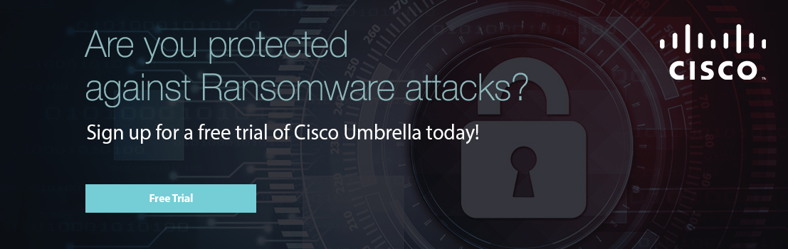 Are you protected against Ransonware attacks?